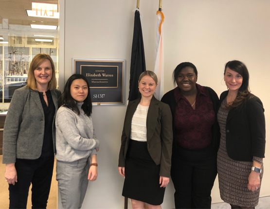 uAspire Students Advocate for Reforms on Capitol Hill