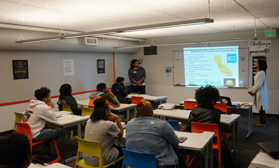 uAspire Event in San Francisco's Bayview Helps African American Student's Prepare for College
