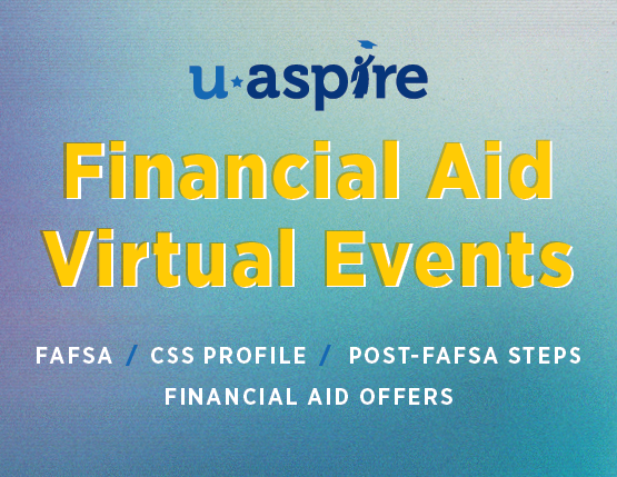 Virtual Financial Aid Help Events