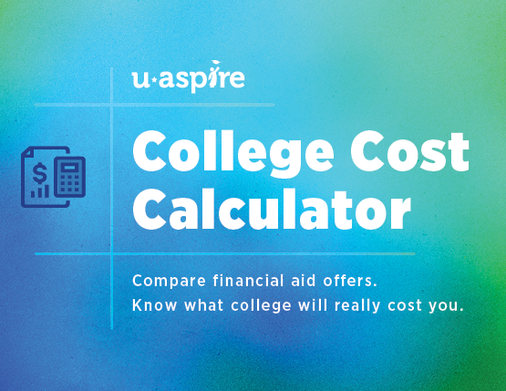 uAspire's College Cost Calculator